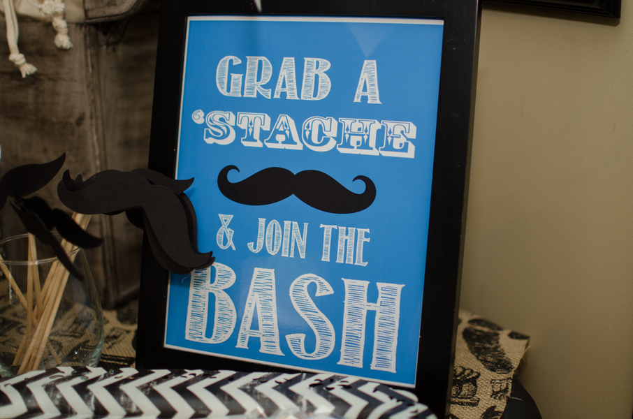 Old Fashioned Mustache Birthday Party Occasions