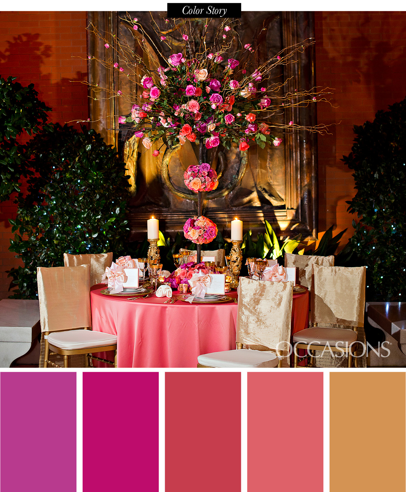 Southern Wedding Decoration Ideas: Savannah Sunset Themed Reception Decor