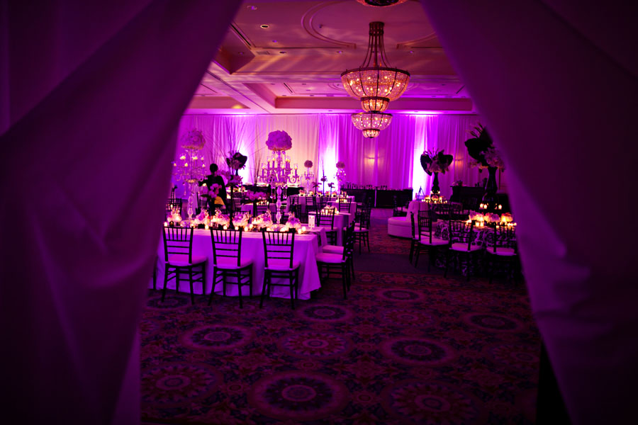 Sophisticated Black, White, and Purple Quinceanera - The ...