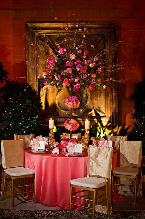Savannah Sunset Themed Reception Decor Occasions
