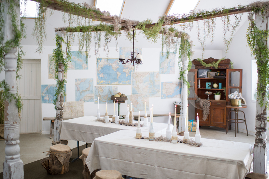 Whimsical Nautical 2nd Birthday Party