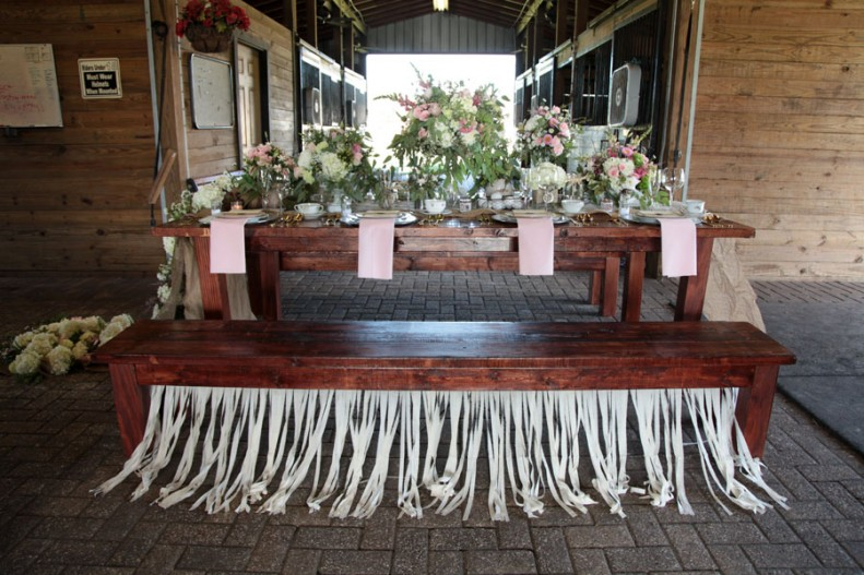 Rustic Elegance For Country Wedding