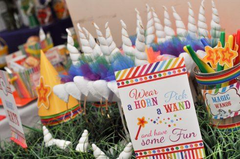Unicorn Paint Birthday Party