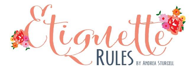 etiquette rules addressing envelopes