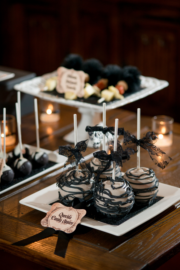 Spooky Addams Family Engagement Party Theme