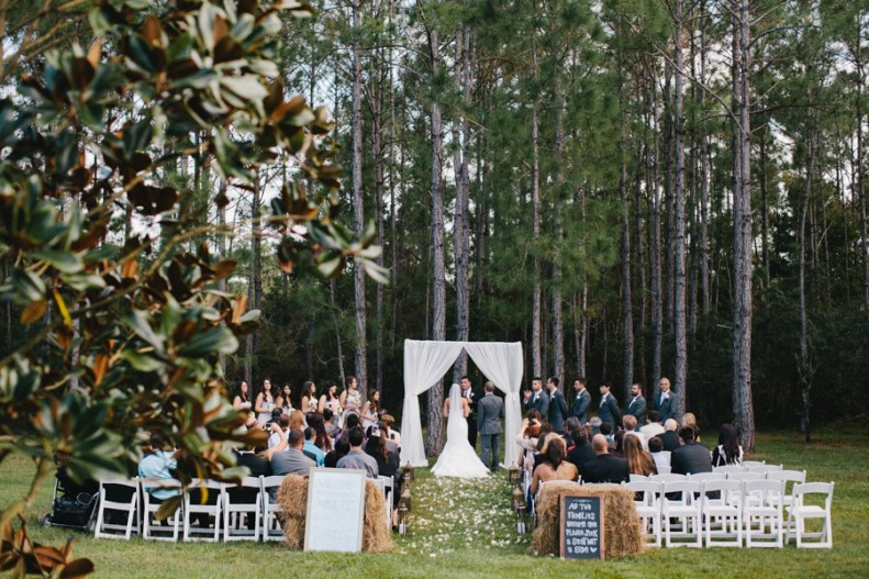 Outdoor Wedding at Florida Ranch