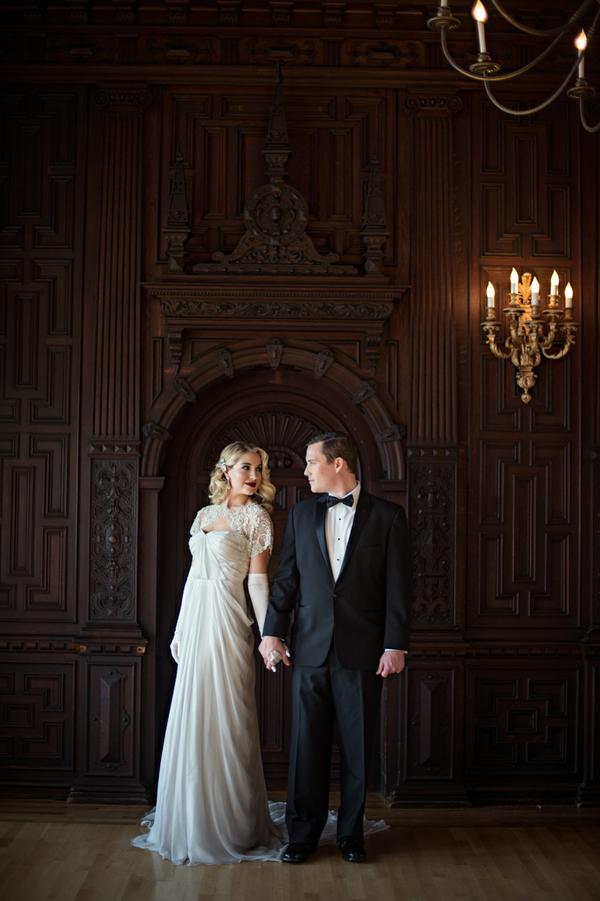 Glamorous gatsby wedding inspiration junglespirit Gallery