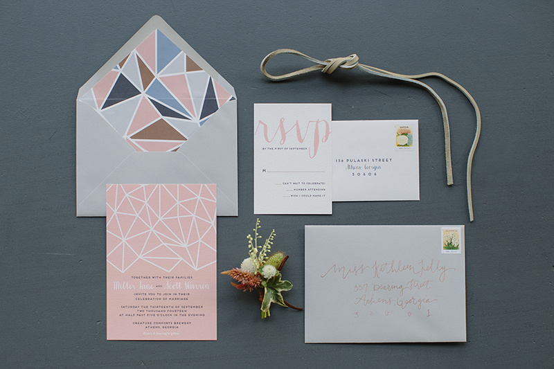 Craft and Copper Wedding Inspiration | The Celebration Society | Chancey Charm Weddings, Lauren Carnes Photography