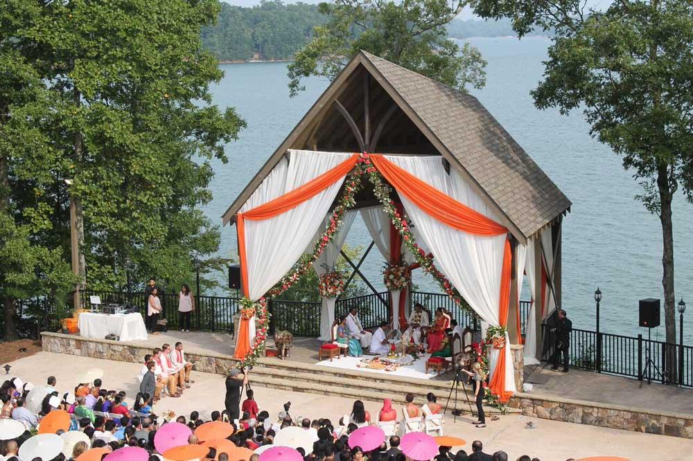 Lanier islands waterfront wedding venues in buford ga