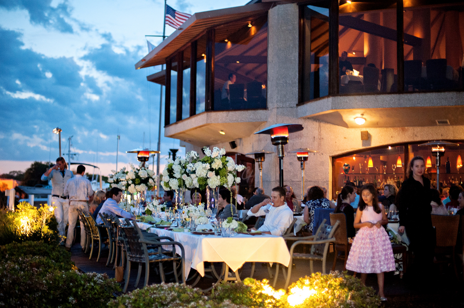 Sea Side Rehearsal Dinner At The Chart House Daytona Beach | The  Celebration Society