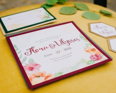 Wedding invitations in Florida by Lemonlark