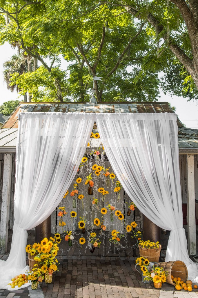 An Intimate Backyard Style Wedding With A Southern Eclectic Touch.