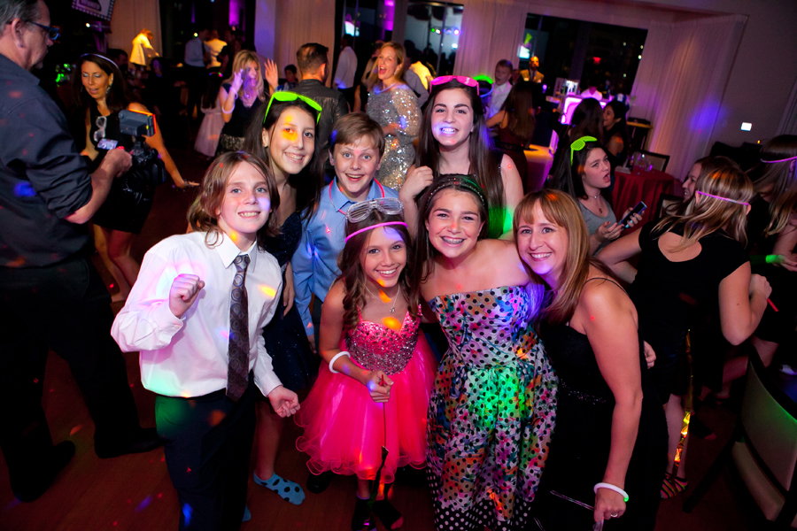lively broadway themed bat mitzvah