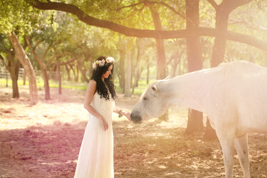 Boho Bridal Portrait Inspiration