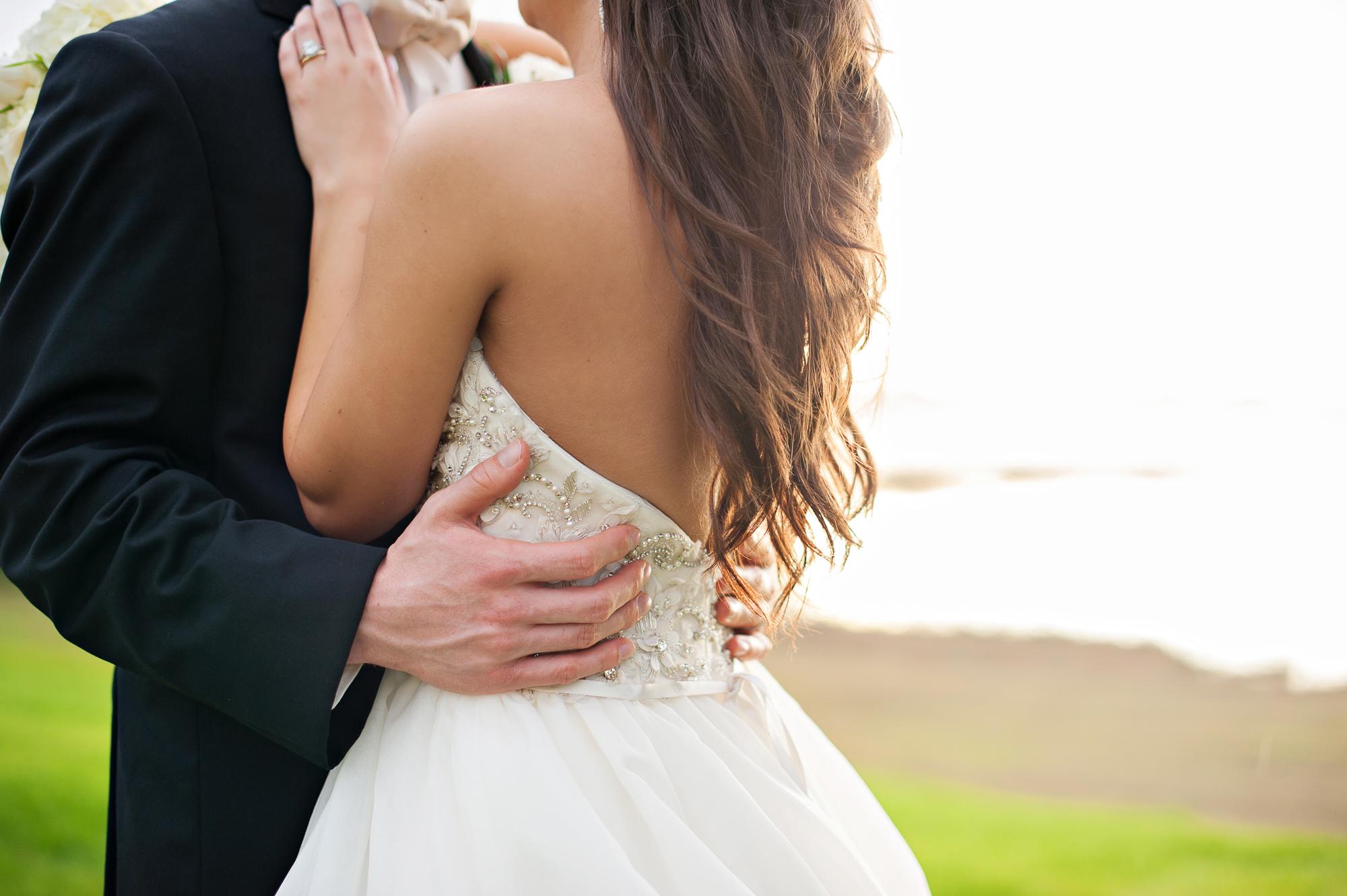 Sophisticated Glam Wedding on Lake Mary