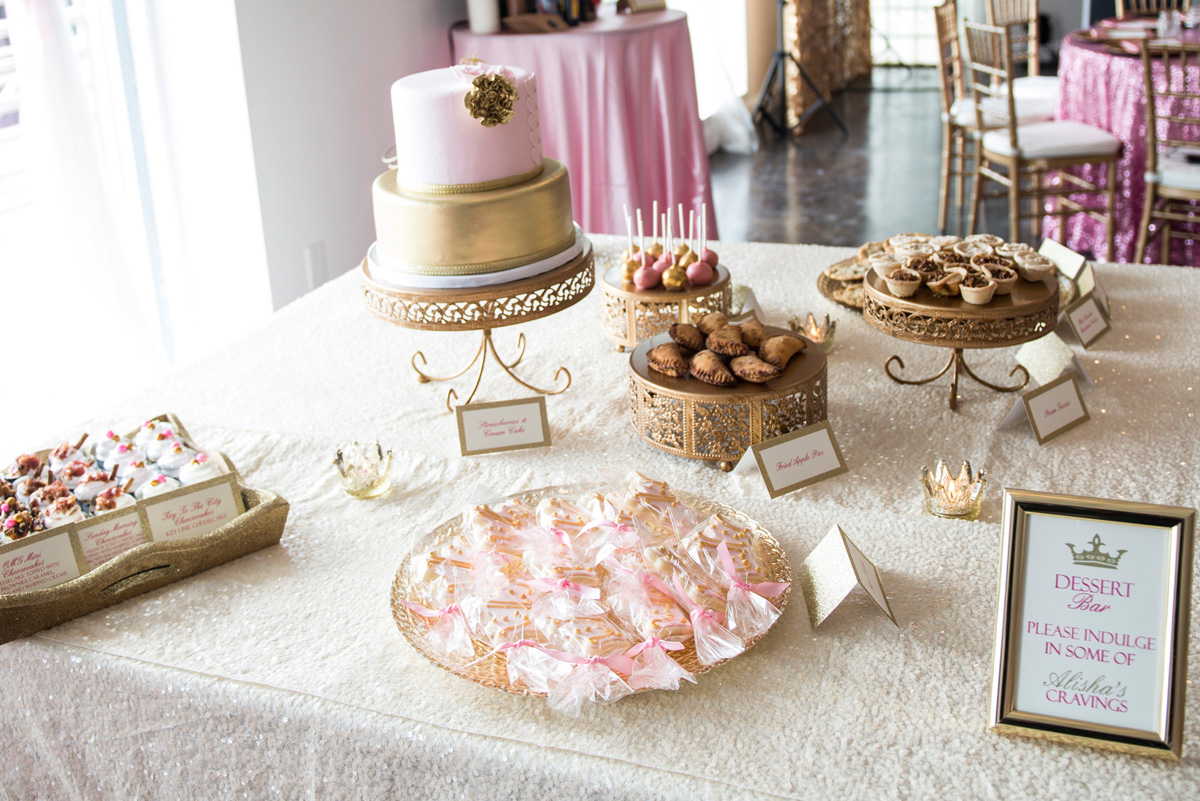 Sweet Girly Baby Shower