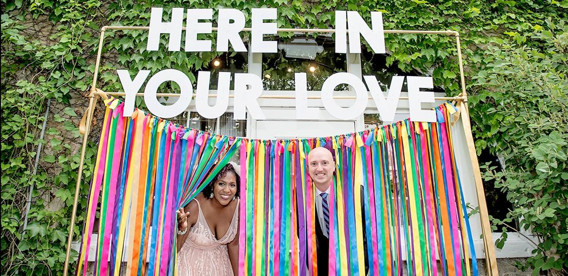 Colorful Wedding at Piedmont Park