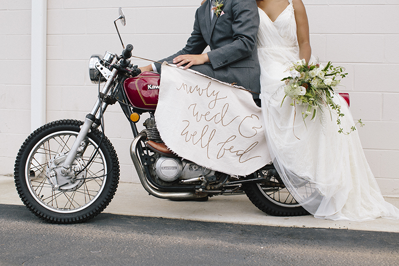 Craft and Copper Wedding Inspiration