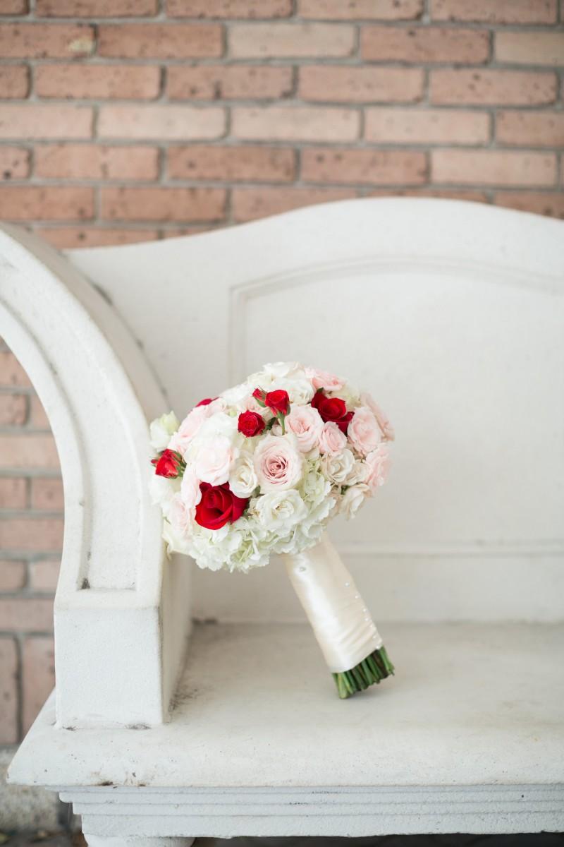 A Romantic Valentines Themed Wedding