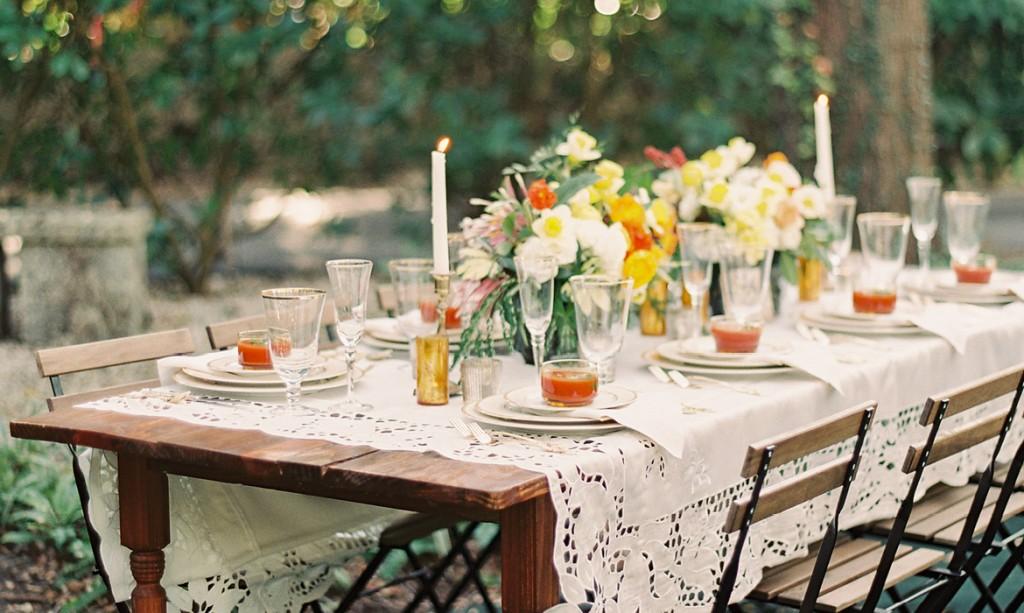 Romantic Wedding Inspiration with Spanish Influences