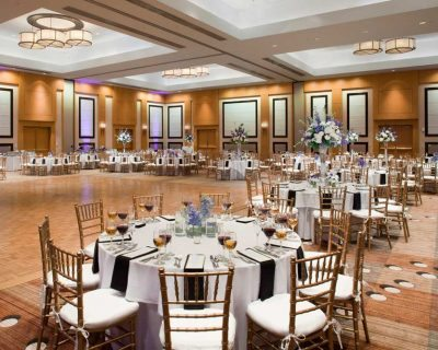 Wedding reception location in Ponte Vedra Beach Florida at Sawgrass Marriott Golf Resort and Spa.