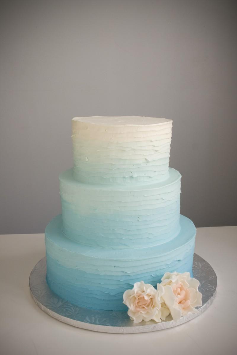 a white cake