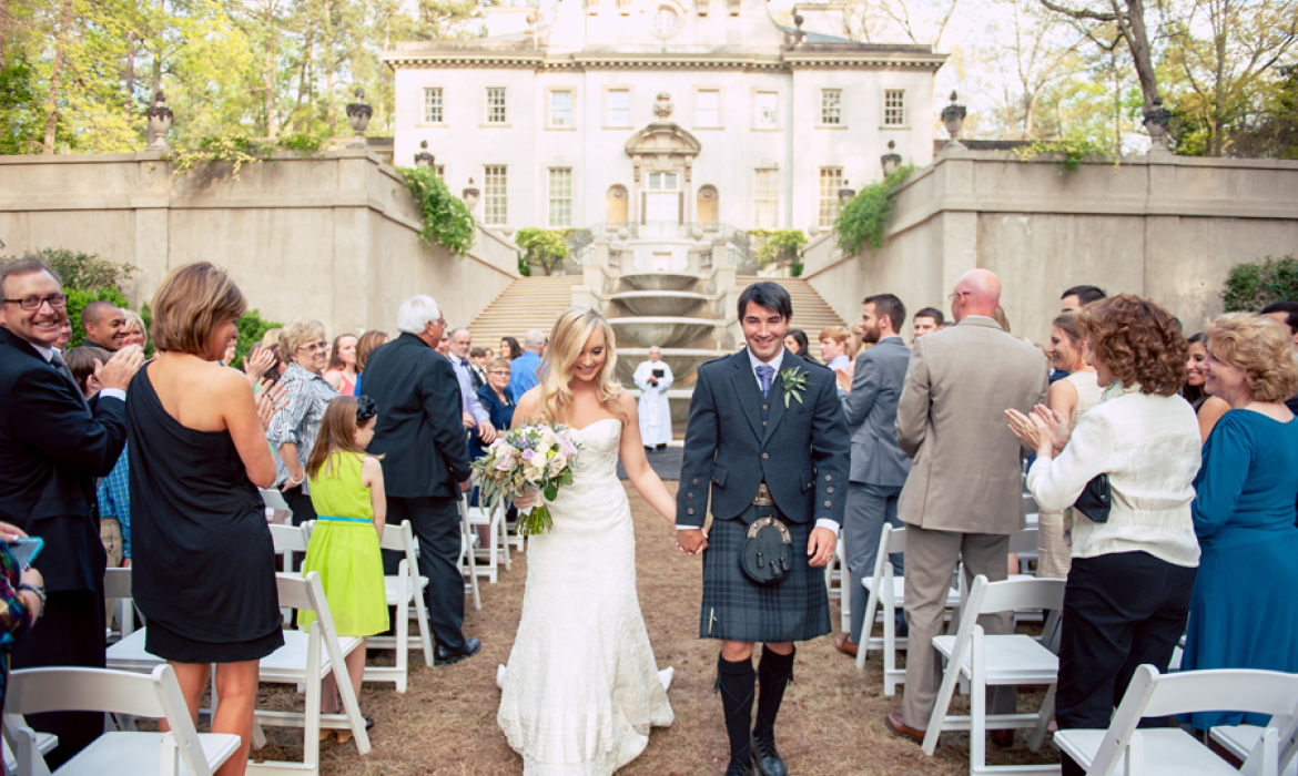 Timeless Wedding at The Swan House