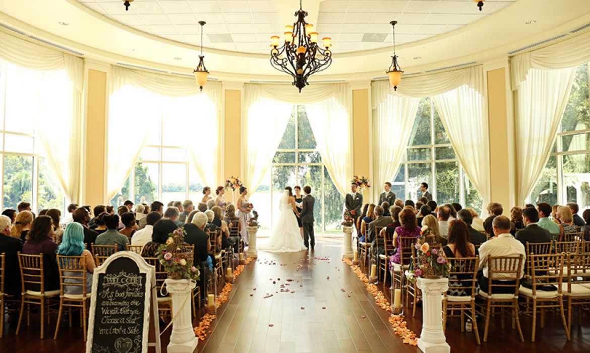 Stunning Wedding at Lake Mary Event Center