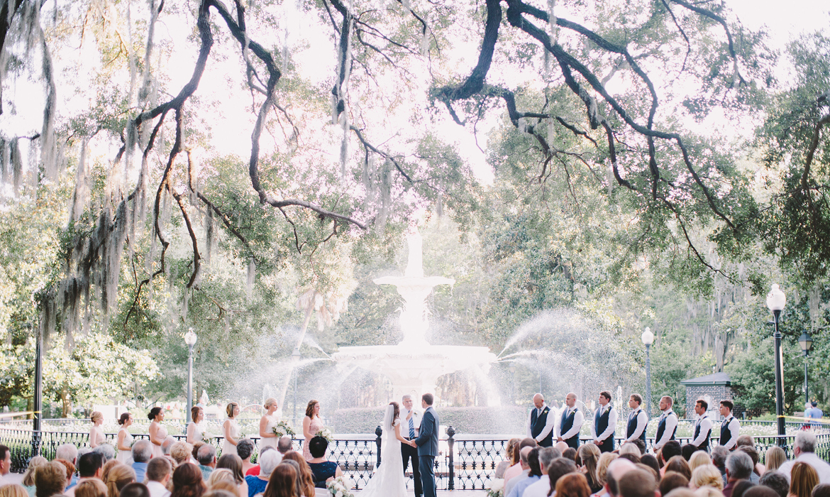Beautiful Destination Wedding in Savannah