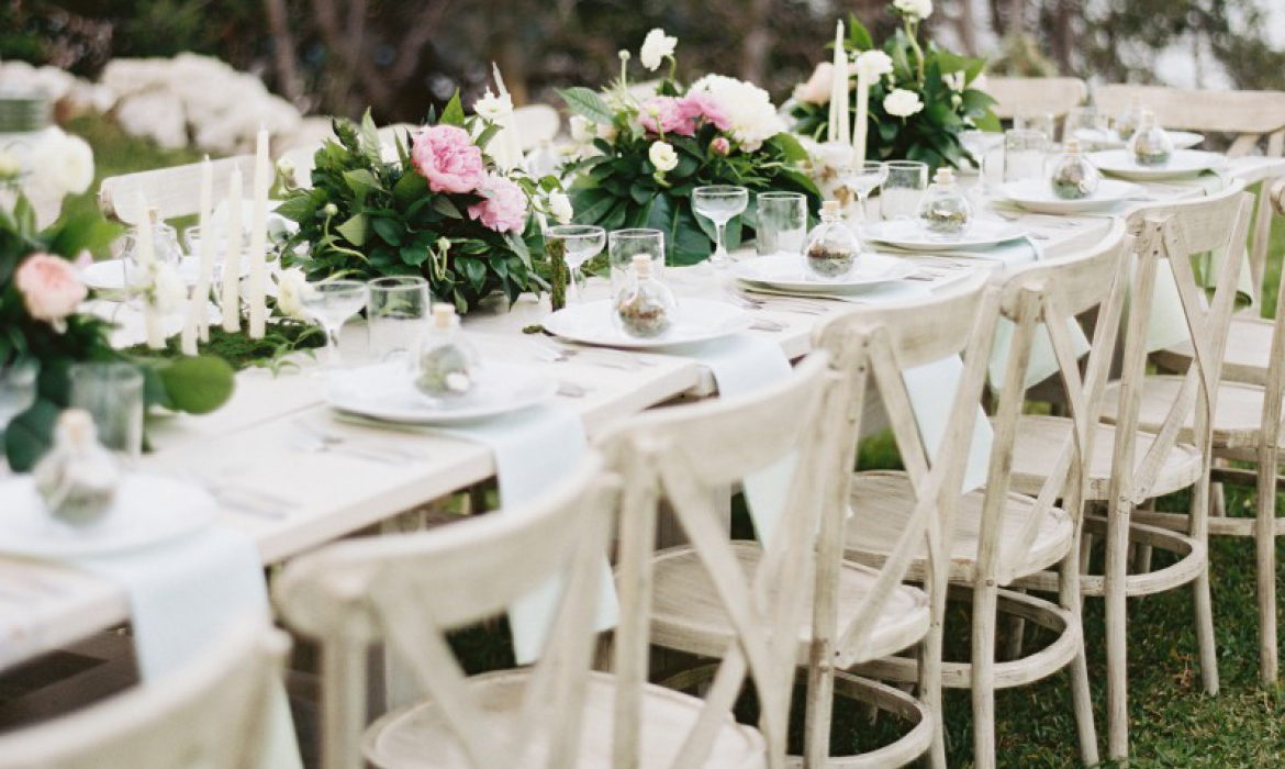 Intimate Backyard Wedding by the Sea