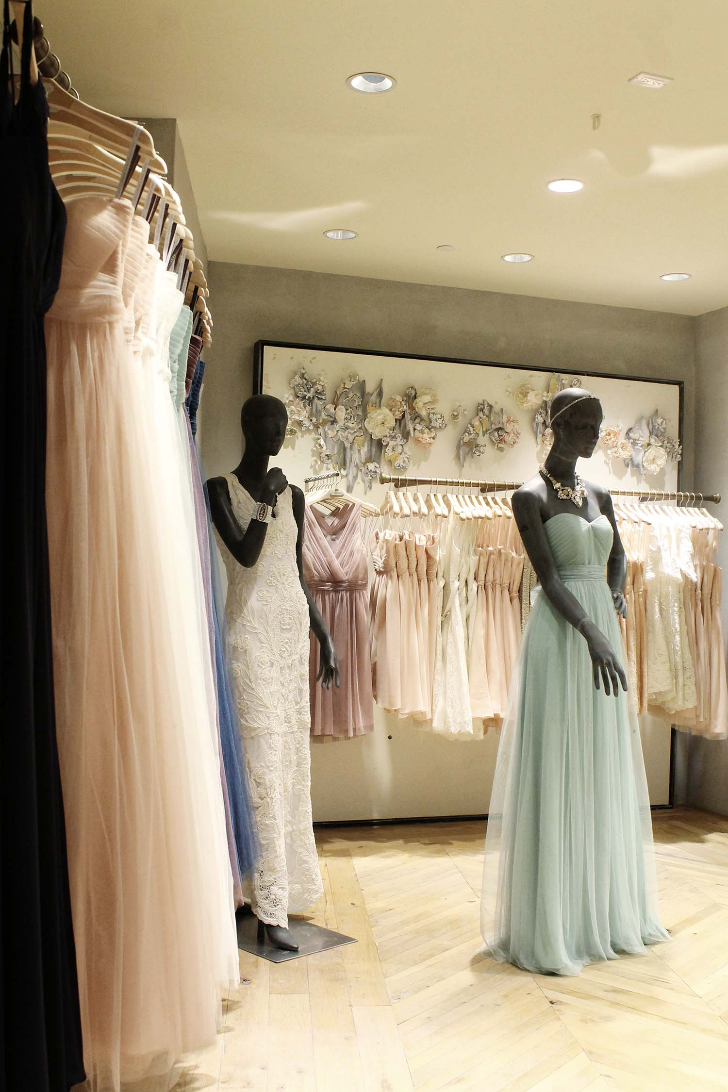 Bhldn Opens Bridal Shop In Shop Within Anthropologies Westside