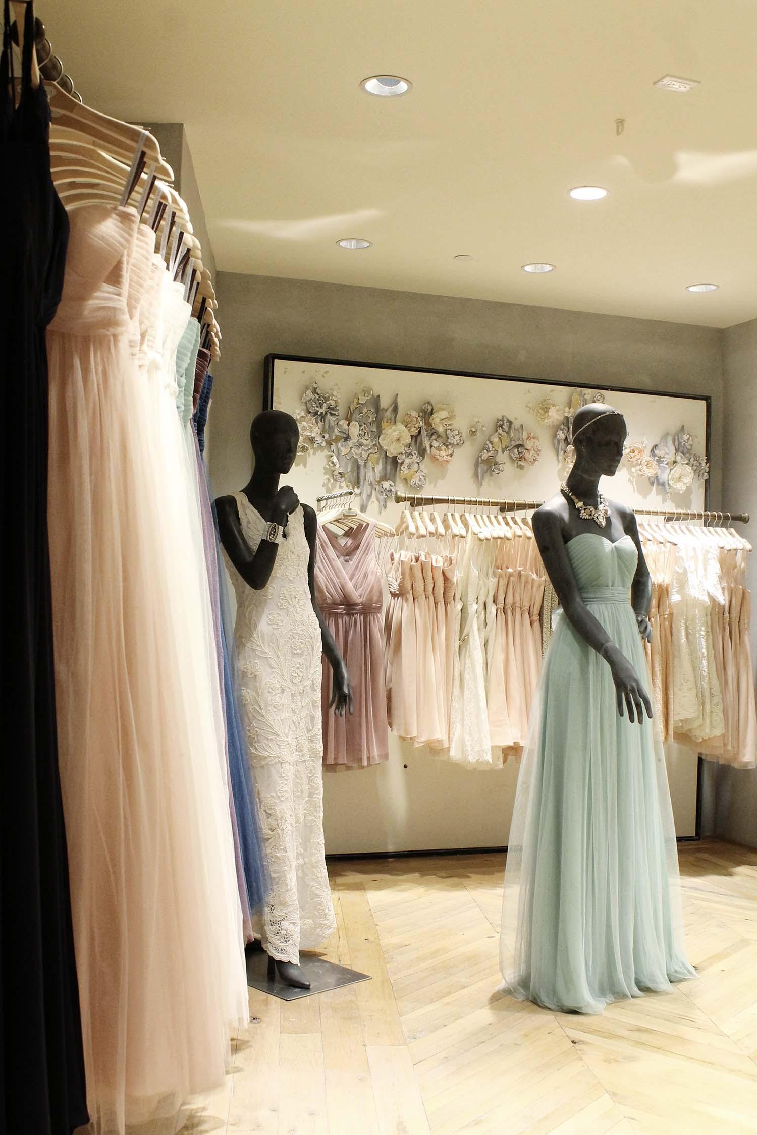 BHLDN Opens Bridal Shop-in-Shop within Anthropologie\'s Westside ...