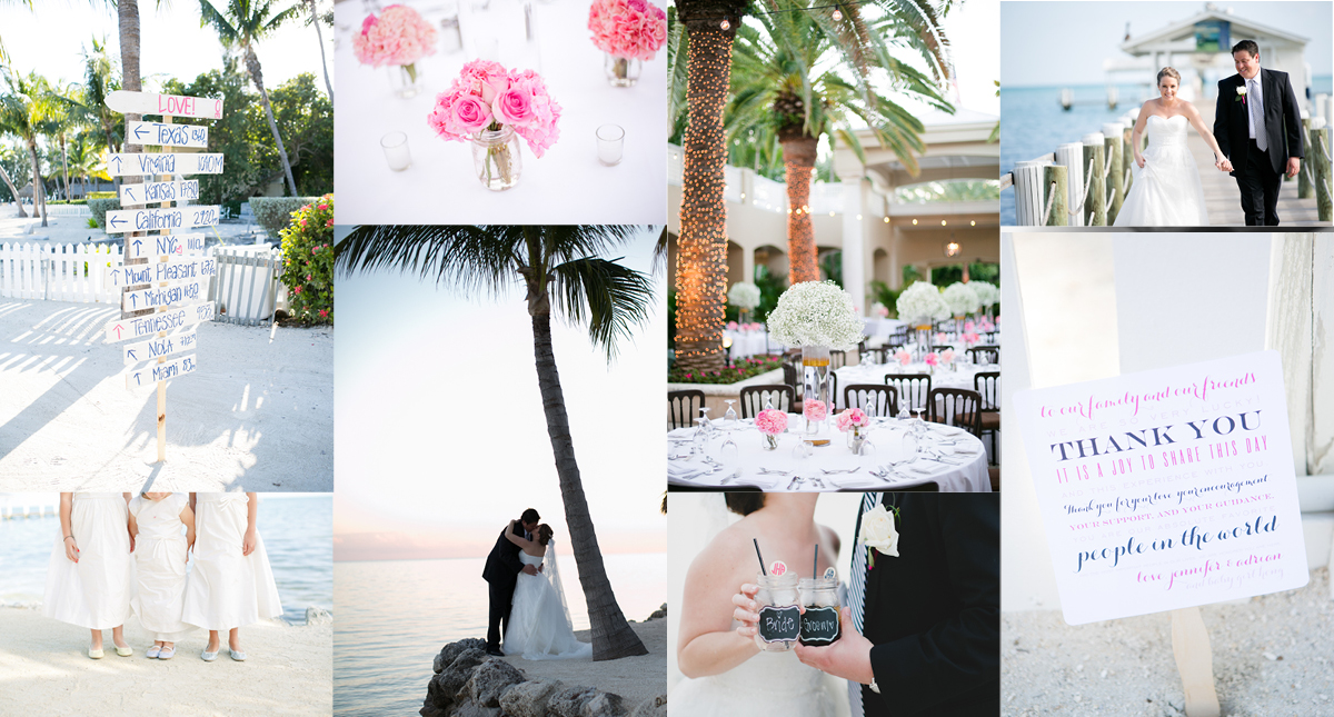 Tropical Destination Wedding at The Cheeca Lodge