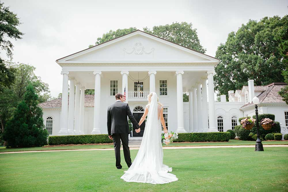 Bride-and-Groom-on-Serenata-Farm-Grounds