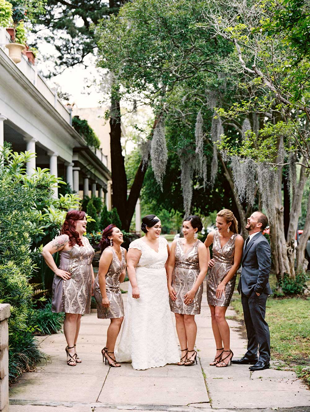 Vintage Glam Wedding at The Savannah Roundhouse Railroad Museum in ...