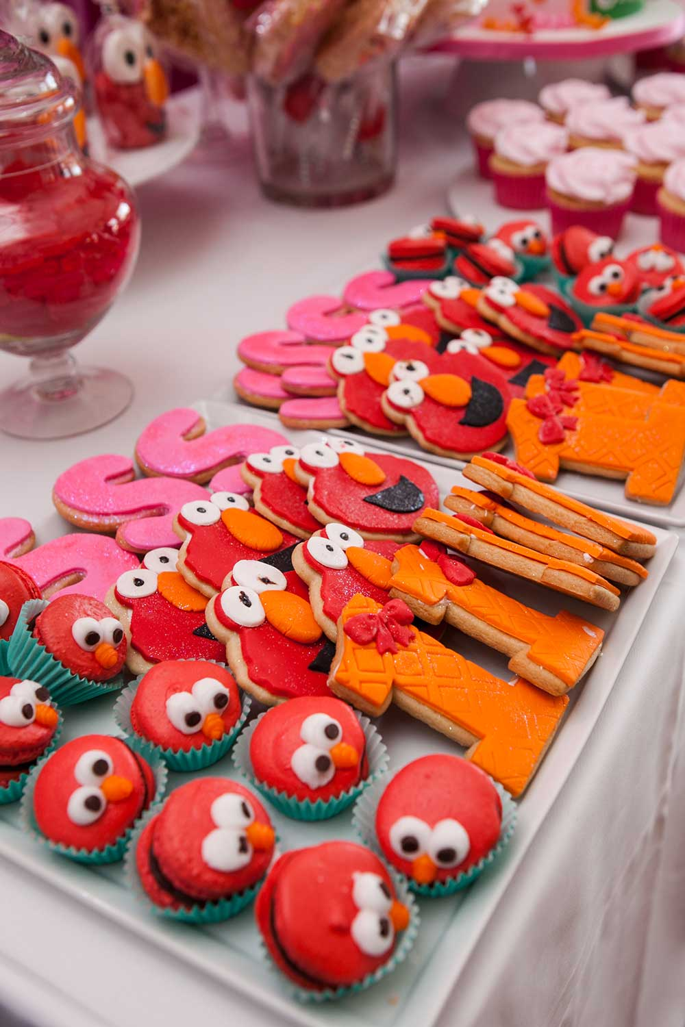 Elmo-Themed-Cookies