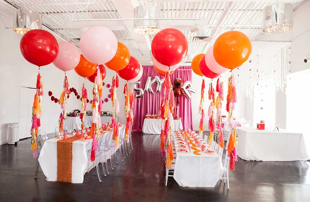 Elmo Themed First Birthday Party At The B Loft In Atlanta Georgia One Year Old