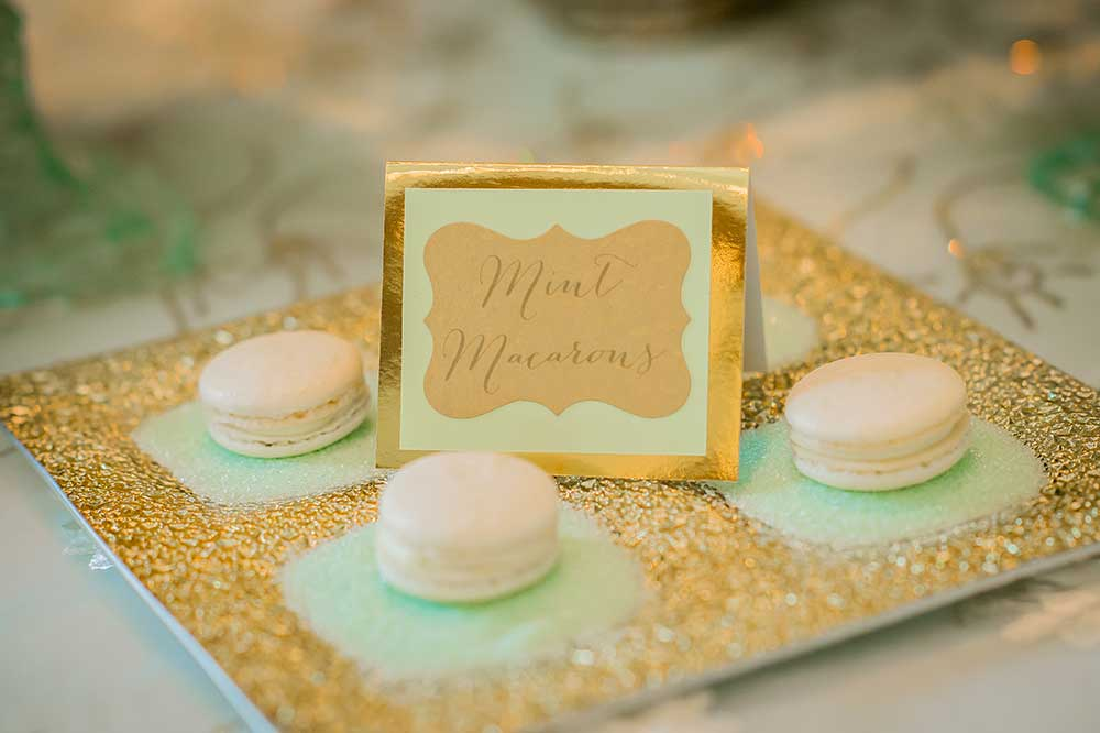 Mint-Macaroons