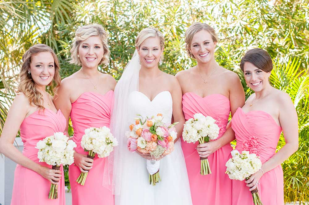 A Coral Beach Wedding at Grand Plaza Hotel in St. Pete Beach ...
