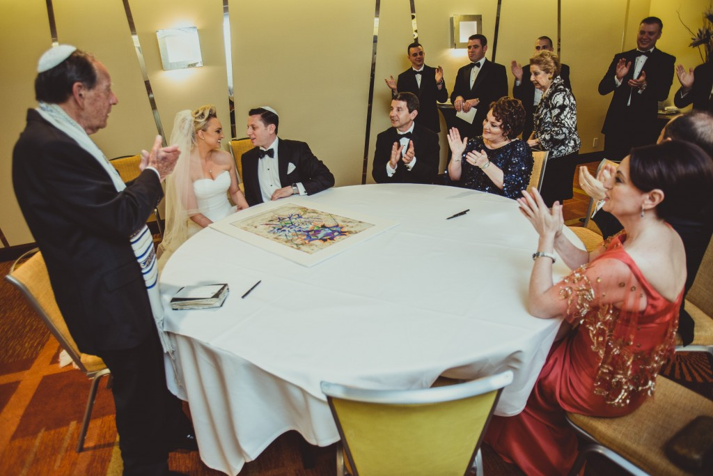 Ketubah marriage contract