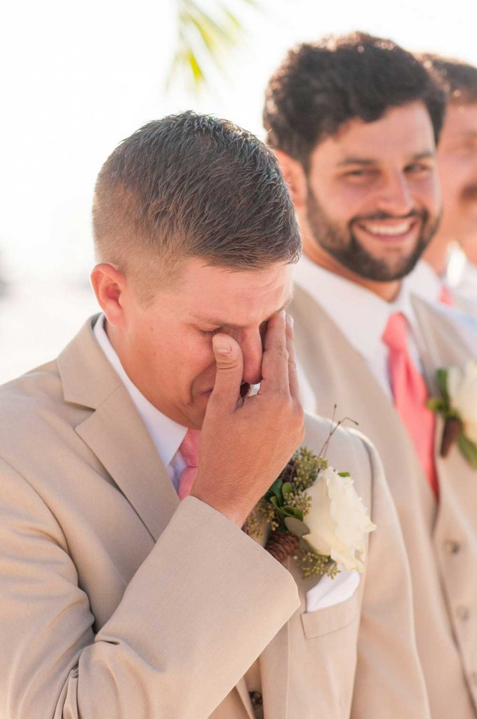 The-groom-when-he-sees-his-bride-walking-down-the-aisle