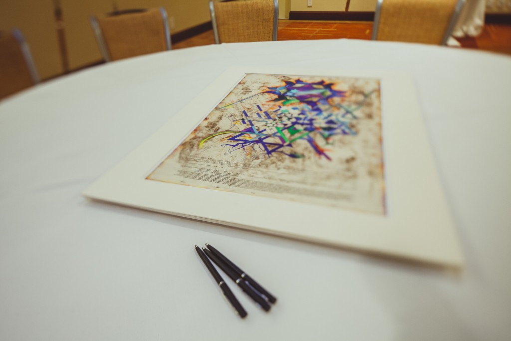 Traditional Ketubah marriage contract