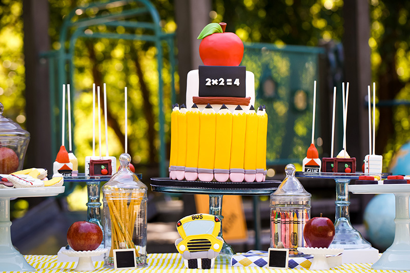 Back to School Playground Party Inspiration