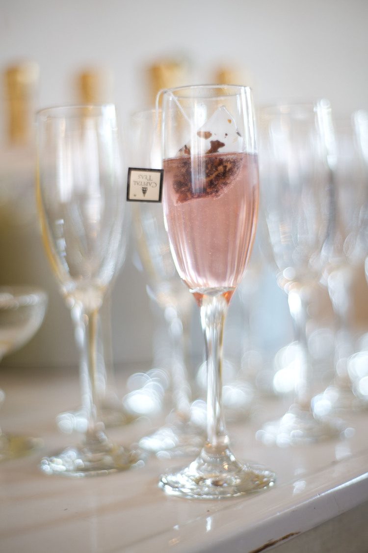Champagne and Tea Cocktail