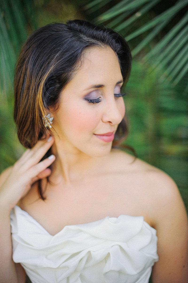 Jessica's Colorful Bridal Makeup