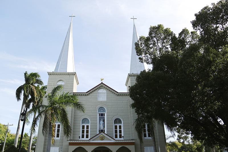 Key West Catholic Basilica Wedding
