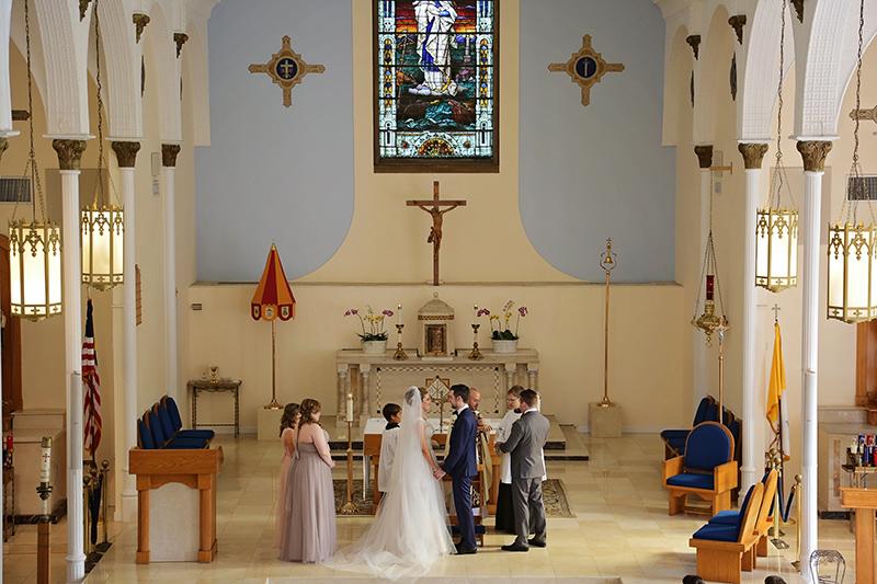 Key West Catholic Wedding Ceremony