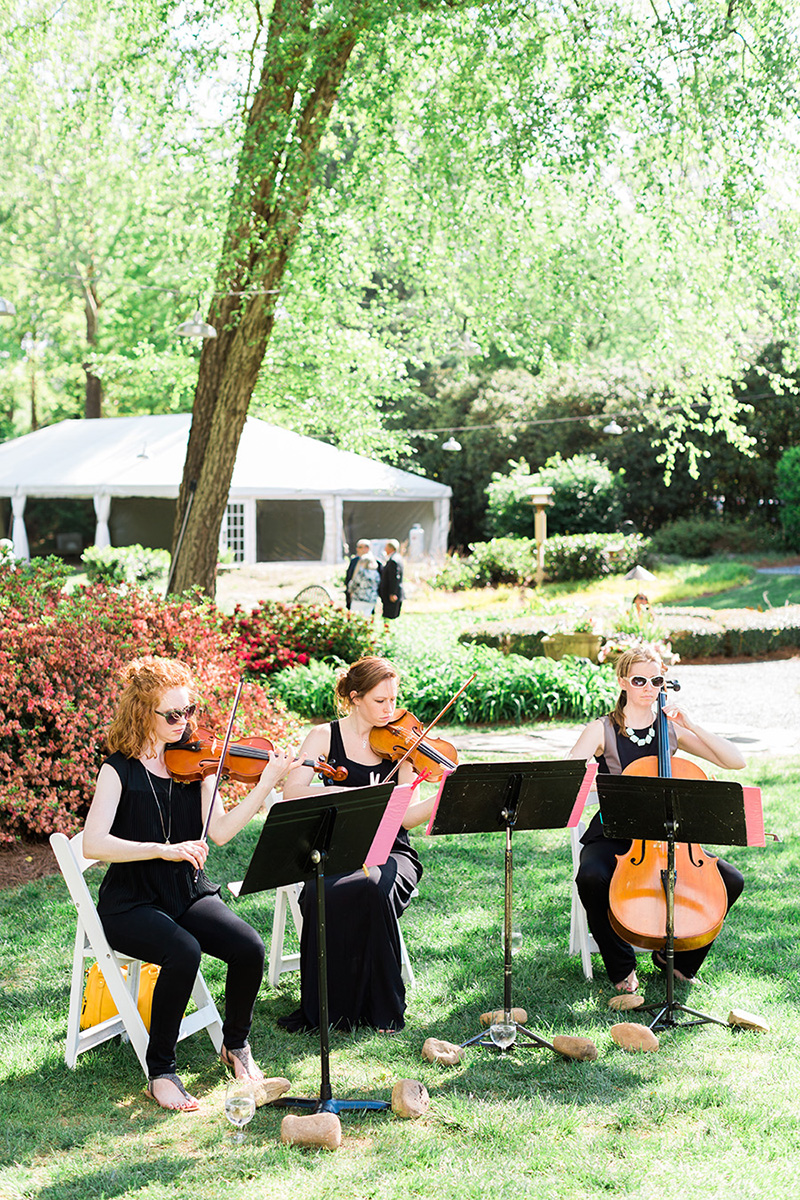 Outdoor Ceremony String Musicians