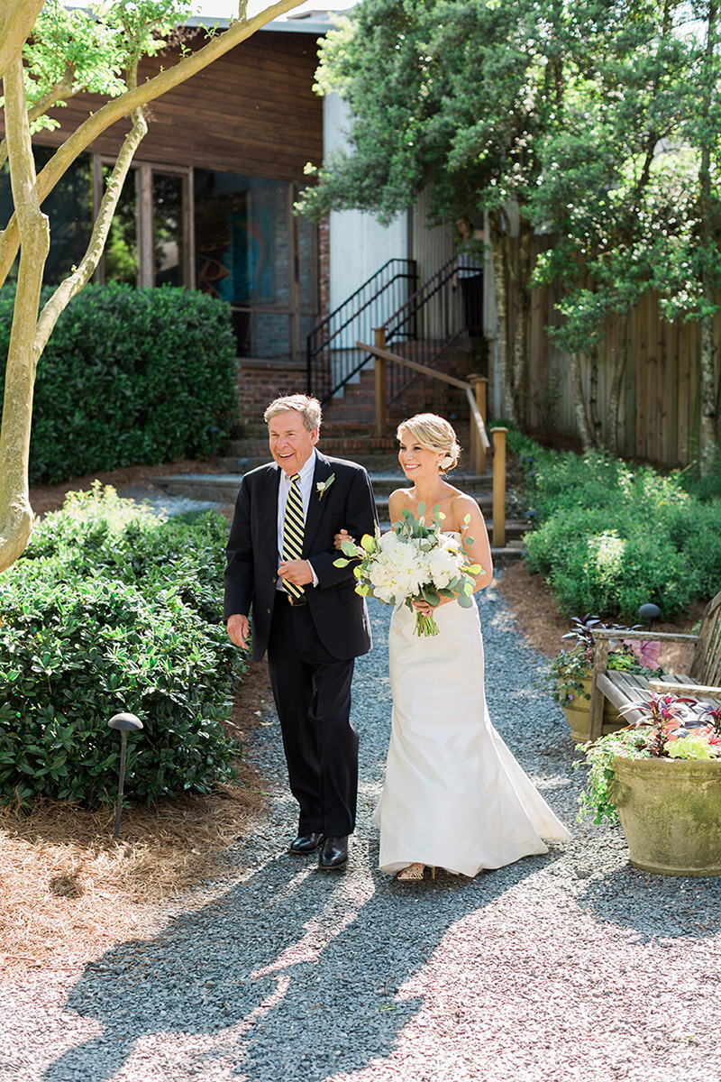 Rustic Outdoor Ceremony with Traditional Processional