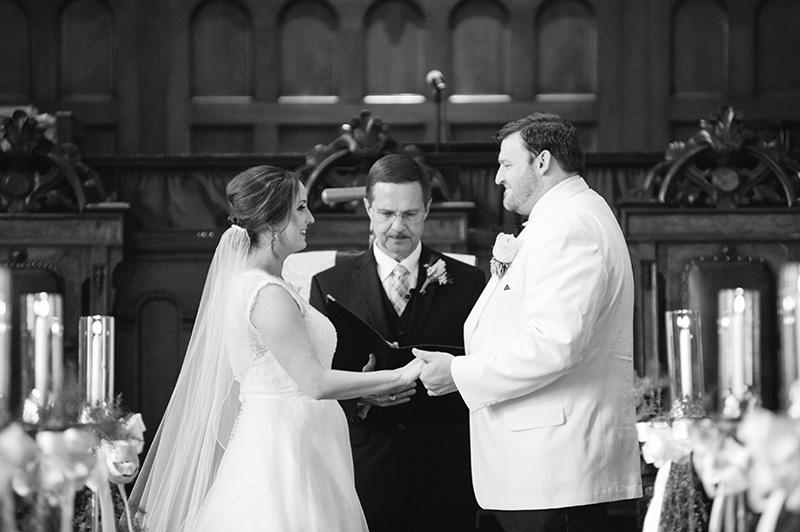 Christian Church Wedding Ceremony in Augusta